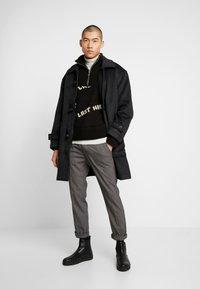 Weekday - ARTUR DUFFEL COAT - Classic coat - dark grey melange - 1