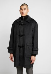 Weekday - ARTUR DUFFEL COAT - Classic coat - dark grey melange - 0