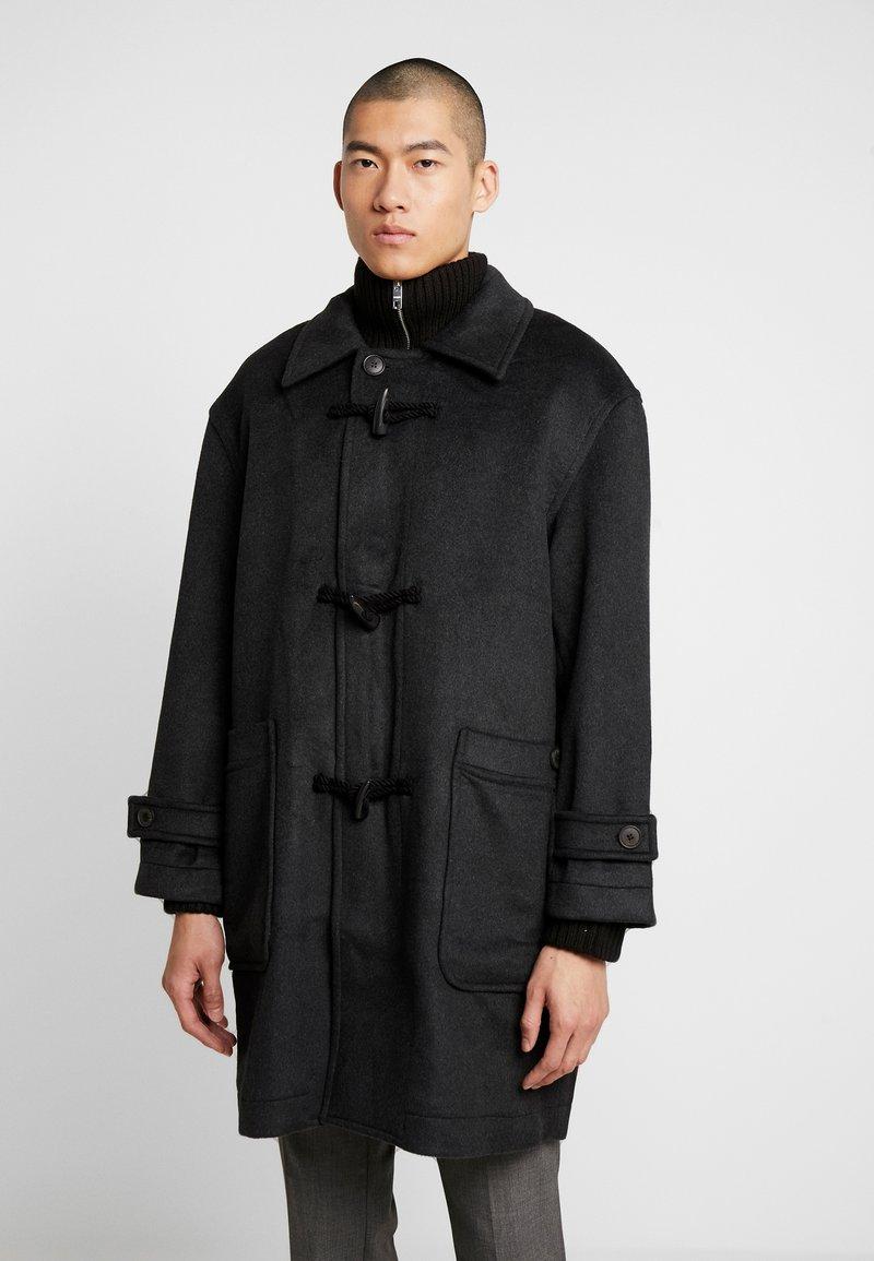 Weekday - ARTUR DUFFEL COAT - Classic coat - dark grey melange
