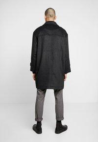 Weekday - ARTUR DUFFEL COAT - Classic coat - dark grey melange - 2