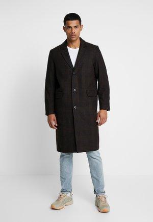 GUNNAR COAT - Abrigo - brown