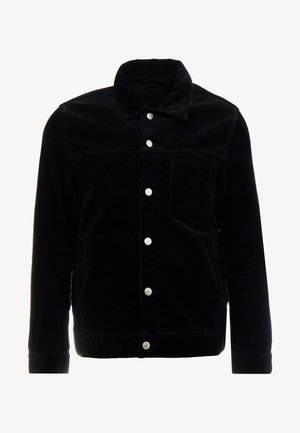 CORE CORDUROY JACKET - Lett jakke - black