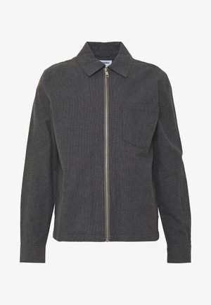 AHMED CHECKED - Lehká bunda - grey dark