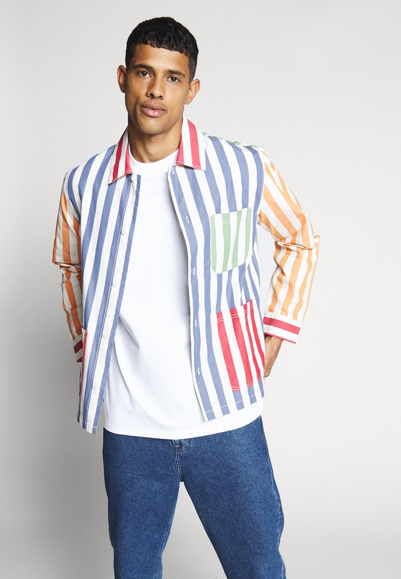 Weekday - JOSH STRIPED - Košile - multi coloured