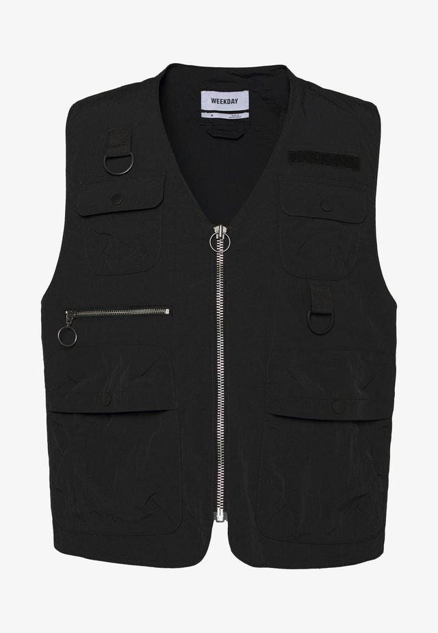 REMY VEST - Vest - black