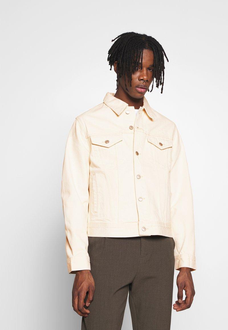 Weekday - MILTON JACKET - Denim jacket - ecru