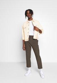 Weekday - MILTON JACKET - Denim jacket - ecru - 1