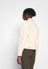 Weekday - MILTON JACKET - Denim jacket - ecru - 2