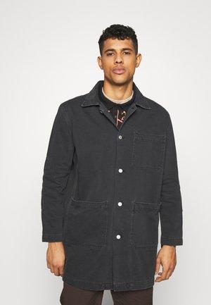 LAB COAT - Classic coat - black