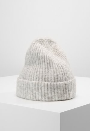 SNOW BEANIE - Huer - grey melange
