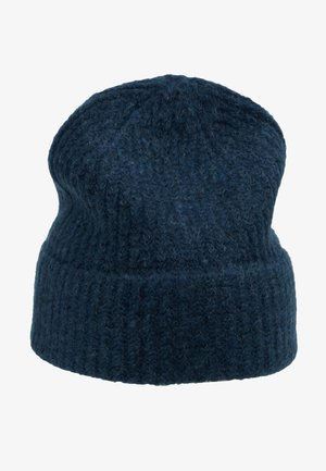 SNOW BEANIE - Berretto - dark blue