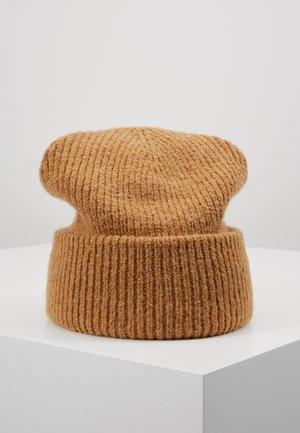LOVA BEANIE - Mütze - dark beige