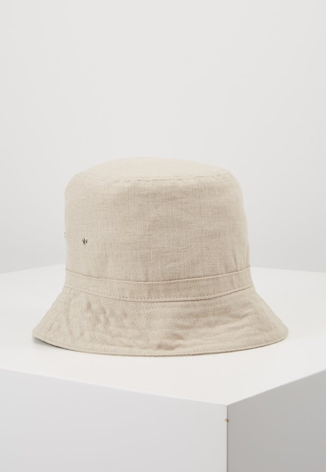 LATITUDE BUCKET HAT - Hut - beige