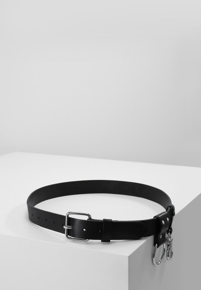 KEY BELT - Gürtel - black