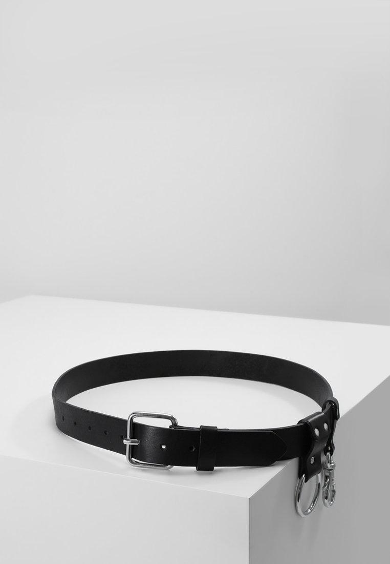 Weekday - KEY BELT - Belte - black