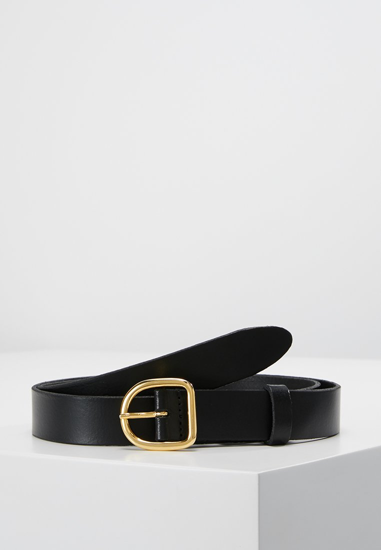 Weekday - DEA BELT - Belt - black/gold-coloured