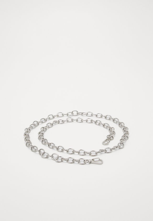 ANGELINA CHAIN BELT - Pásek - silver-coloured