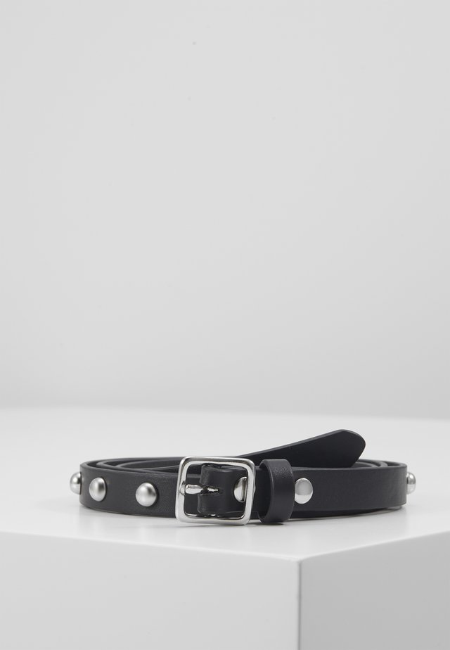 PATTI STUDDED BELT - Belt - black