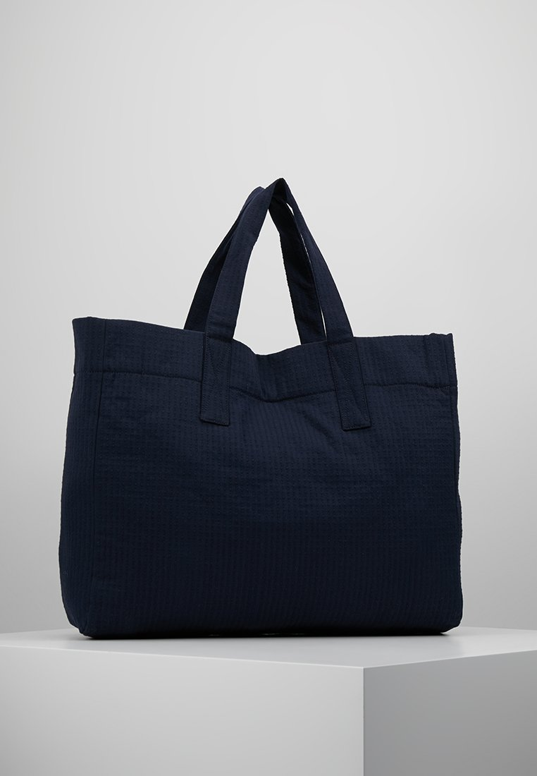 Weekday - DONE TOTE - Shopping Bag - nit blue