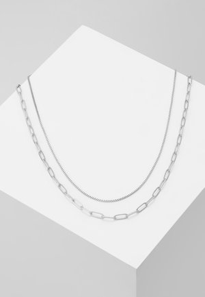 CONTRAST NECKLACE 2 PACK - Ketting - gold-coloured