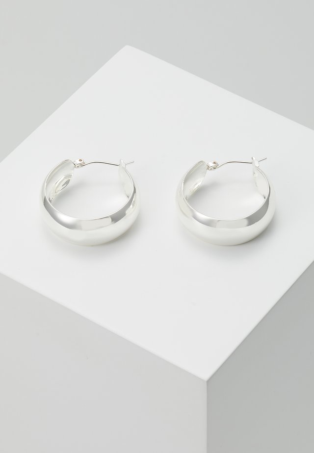 IZA HOOPS - Earrings - silver-coloured