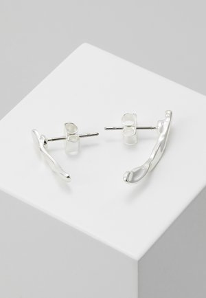 JOHANNA CRAWLER EARRING - Earrings - silver-coloured