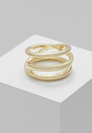 SCULPT - Ring - gold-coloured