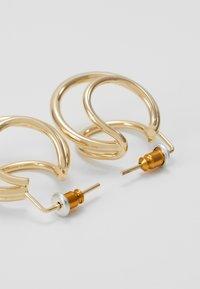 Weekday - CALA HOOPS - Ohrringe - gold-coloured - 2
