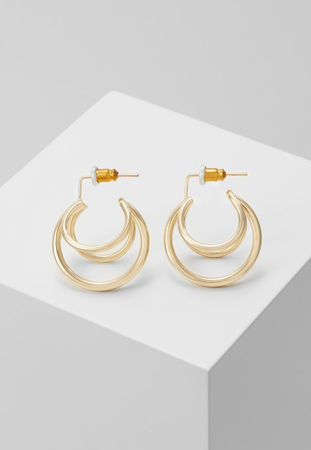 CALA HOOPS - Earrings - gold-coloured