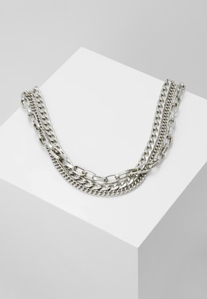 MAURA CHAIN NECKLACE - Naszyjnik - silver-coloured