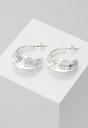 TRINE HOOPS - Earrings - silver-coloured