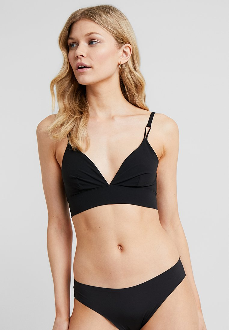 Weekday - ZOE SOFT BRA - Reggiseno a triangolo - black
