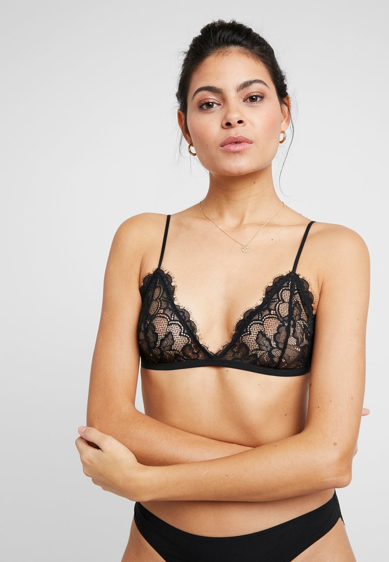 Weekday - FIONA SOFT BRA - Triangel BH - black