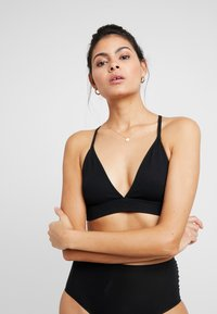 Weekday - FRANCES SOFT BRA - Topp - black - 0