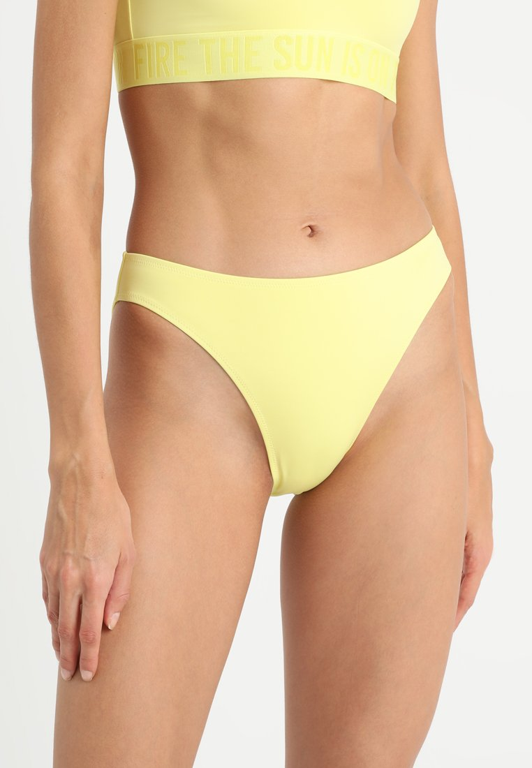 Weekday - SOLEIL SWIM BOTTOM - Braguita de bikini - yellow