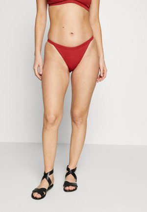 SWIM BOTTOM - Bikinibukser - red