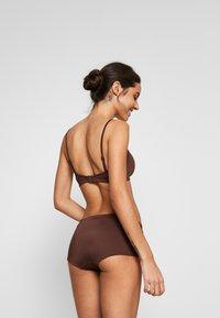 Weekday - AVA BOTTOM - Bikini bottoms - dark brown - 2