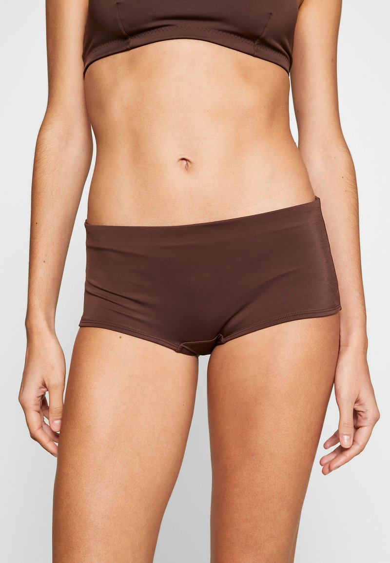 Weekday - AVA BOTTOM - Bikini bottoms - dark brown
