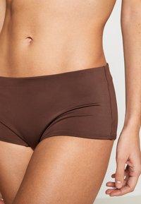 Weekday - AVA BOTTOM - Bikini bottoms - dark brown - 4