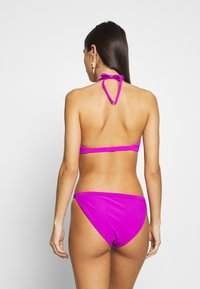 Weekday - FARAWAY RIBBED SWIM BOTTOM - Bikinibroekje - purple - 2
