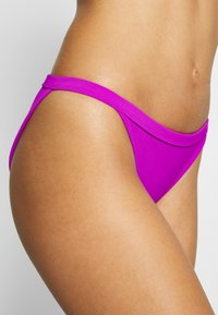 Weekday - FARAWAY RIBBED SWIM BOTTOM - Bikinibroekje - purple - 4