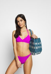 Weekday - FARAWAY RIBBED SWIM BOTTOM - Bikinibroekje - purple - 1
