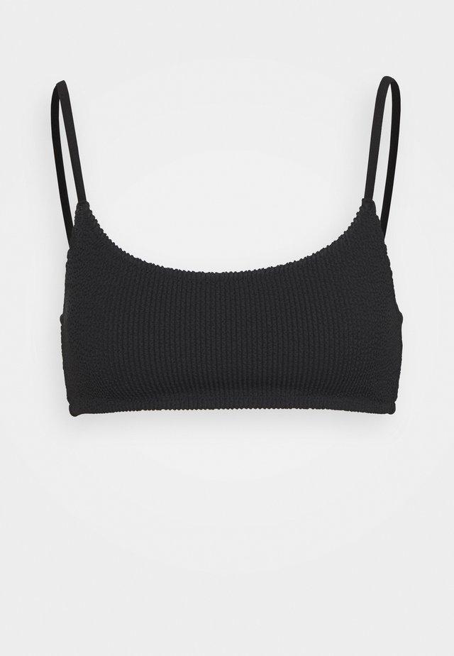 SUNNY STRUCTURE SWIM - Bikiniöverdel - black