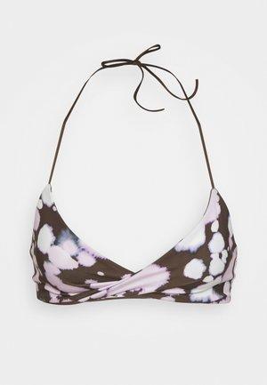 LAGOON TRIANGLE SWIM - Bikini top - multicoloured