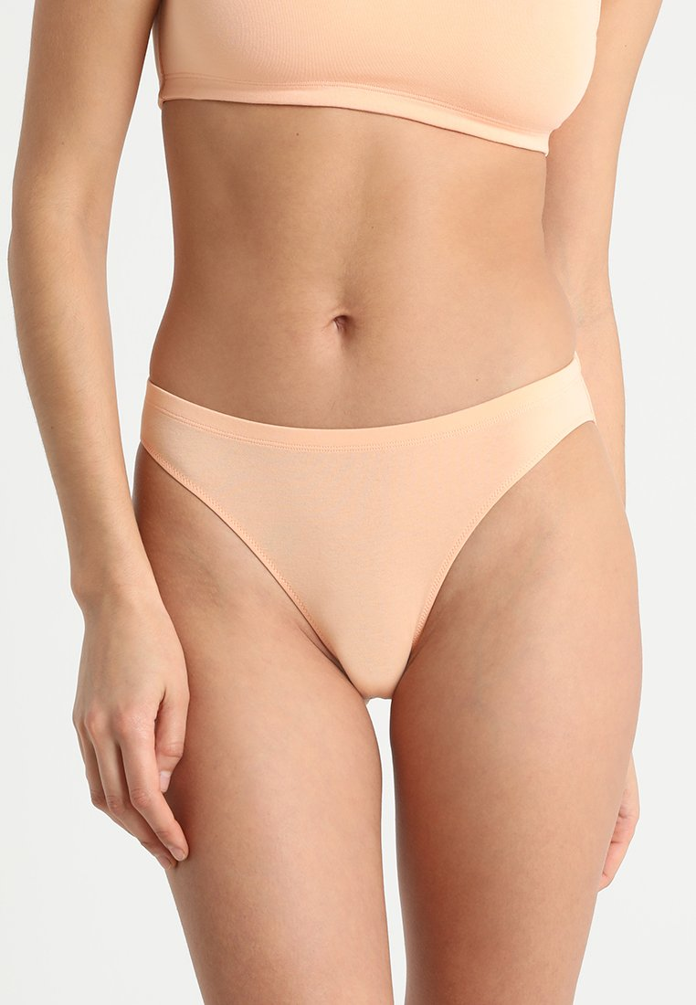 Weekday - ELISA HIGH CUT BRIEF - Briefs - apricot