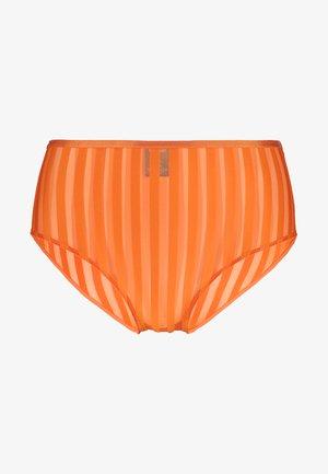 INDIRA HIGHWAIST - Kalhotky - orange