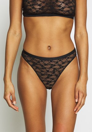 CHRISTY HIGHCUT BRIEF - Slip - black
