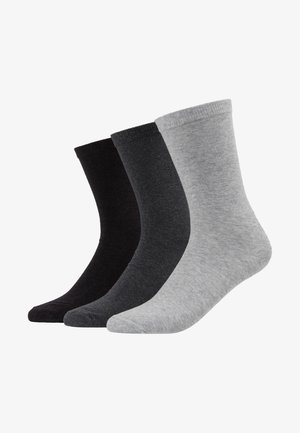 BOB SOCKS 3 PACK - Chaussettes - grey melange