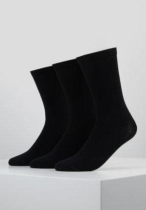 BOB SOCKS 3 PACK - Socks - black