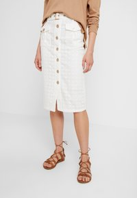 We are Kindred - LULU PENCIL SKIRT - Falda de tubo - white - 0